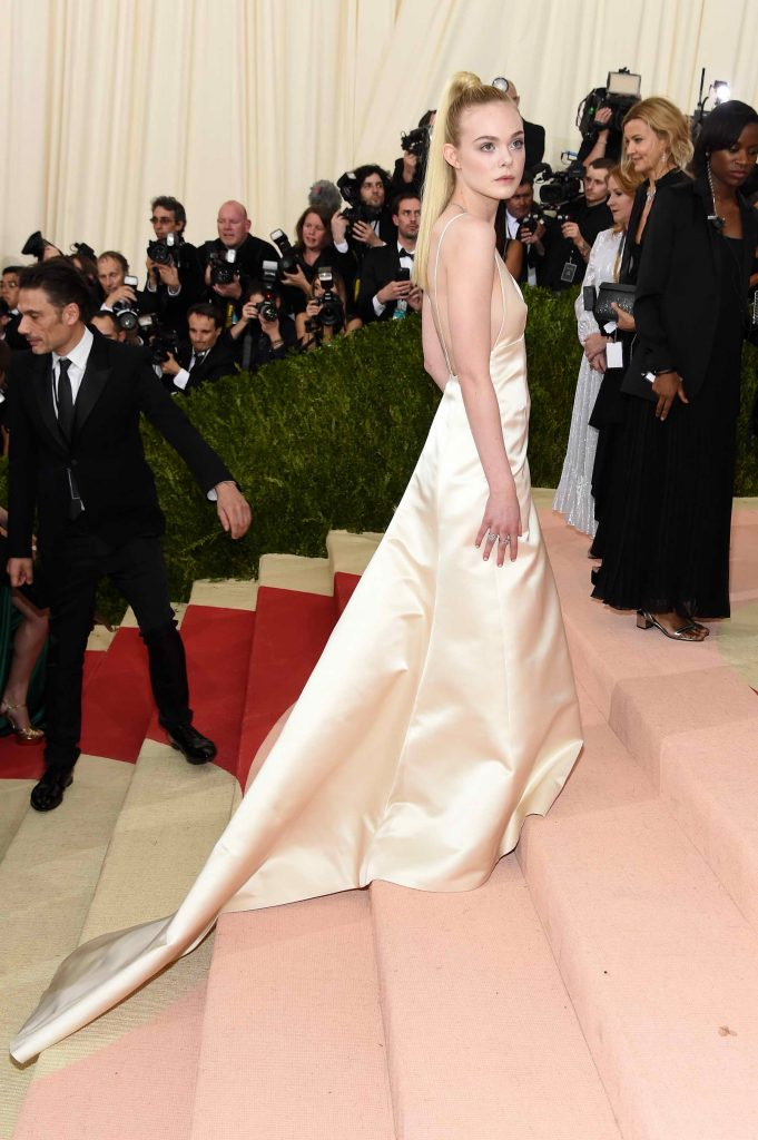 Elle Fanning at the Costume Institute Gala at the Metropolitan Museum of Art in New York City-2