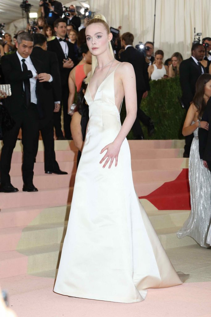 Elle Fanning at the Costume Institute Gala at the Metropolitan Museum of Art in New York City-3