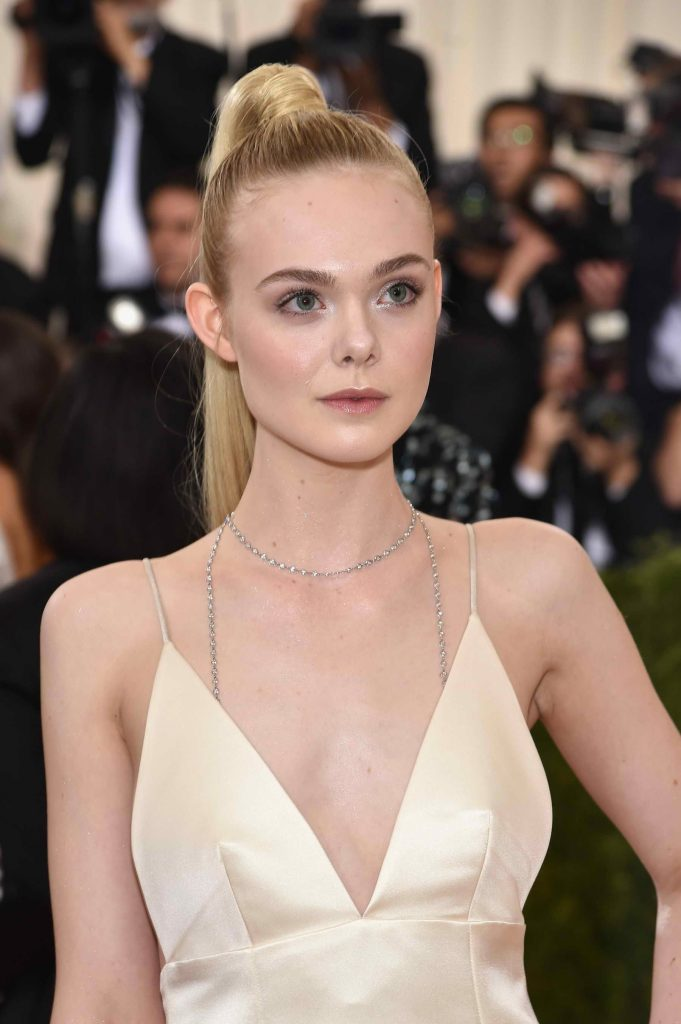 Elle Fanning at the Costume Institute Gala at the Metropolitan Museum of Art in New York City-5