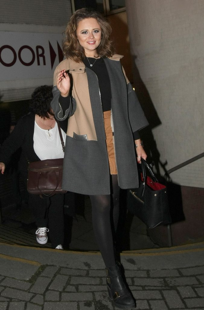Emily Atack Leaves the Theatre in Nottingham-2