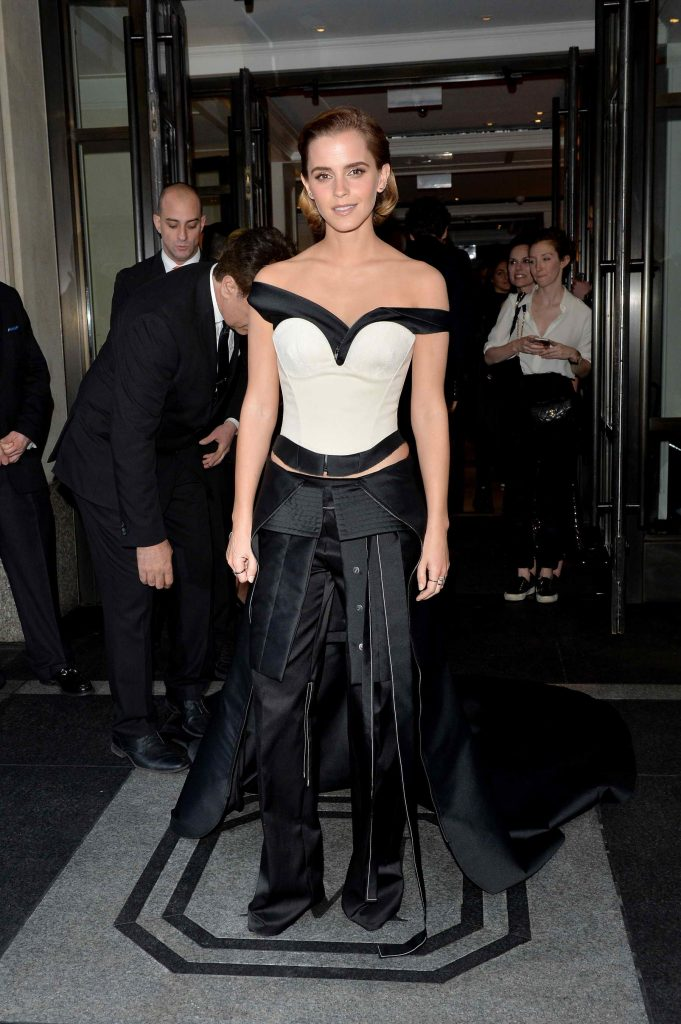 Emma Watson at the Costume Institute Gala at the Metropolitan Museum of Art in New York City-1