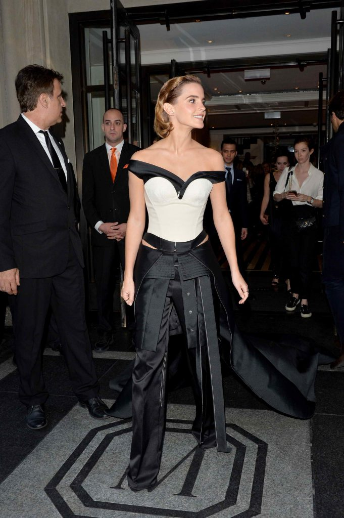 Emma Watson at the Costume Institute Gala at the Metropolitan Museum of Art in New York City-2