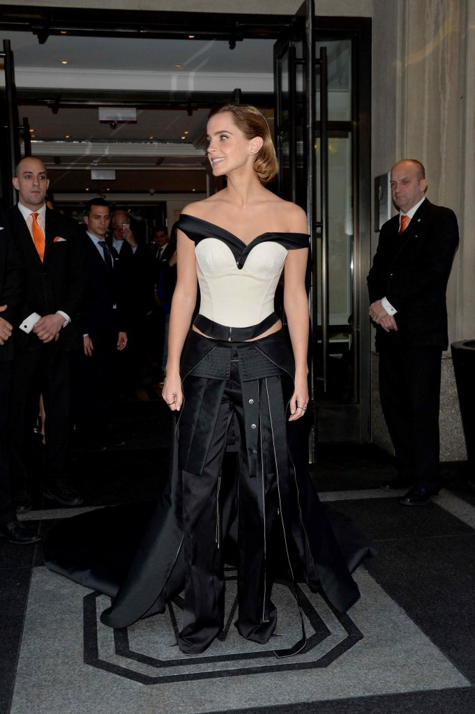 Emma Watson at the Costume Institute Gala at the Metropolitan Museum of Art in New York City-3