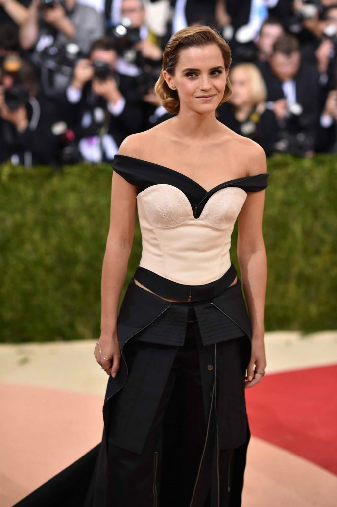 Emma Watson at the Costume Institute Gala at the Metropolitan Museum of Art in New York City-4