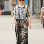 Julia Stiles Takes a Stroll in NYC