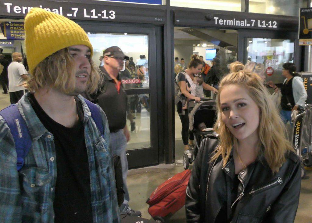 Kelli Berglund at LAX Airport in Los Angeles-4