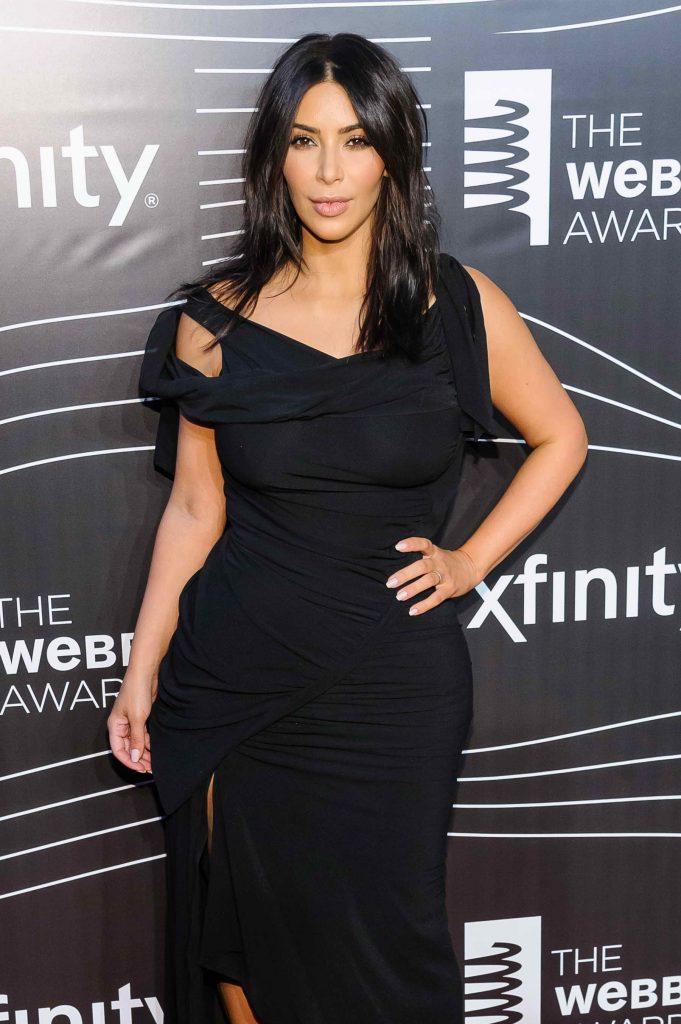 Kim Kardashian at the 20th Annual Webby Awards in New York-2