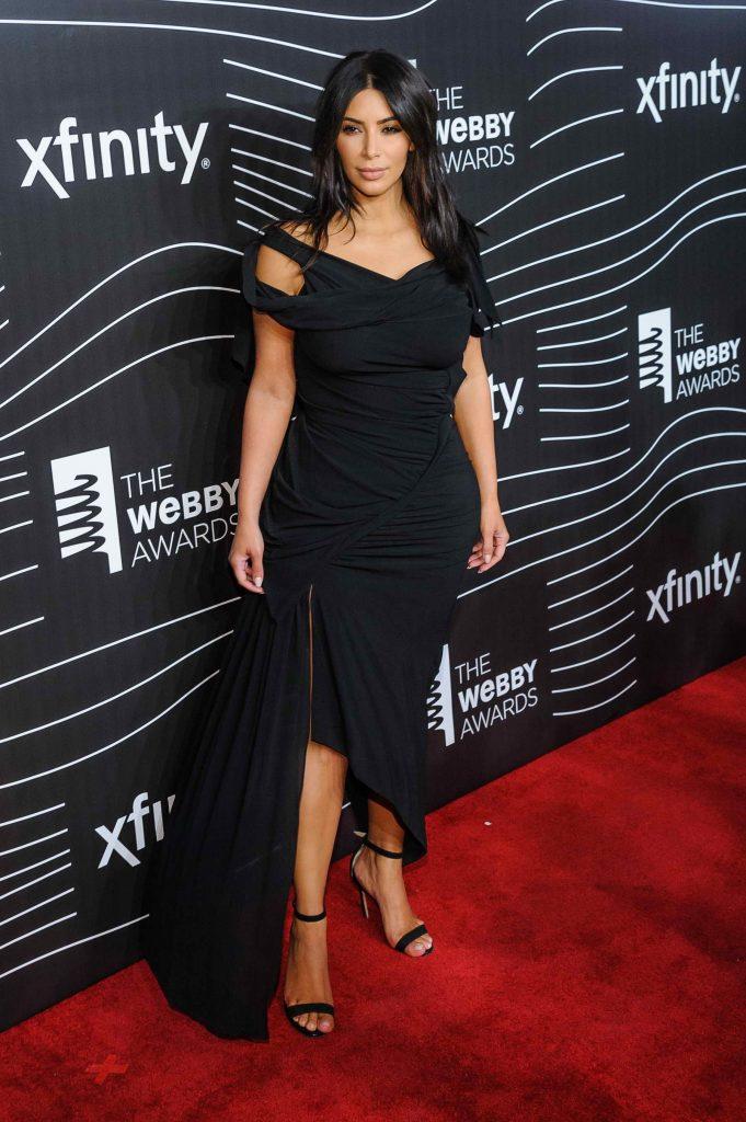 Kim Kardashian at the 20th Annual Webby Awards in New York-3