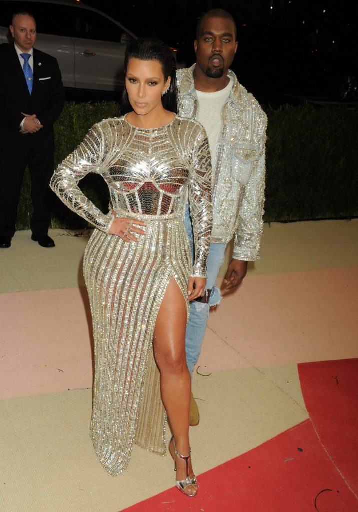 Kim Kardashian at the Costume Institute Gala at the Metropolitan Museum of Art in New York City-1