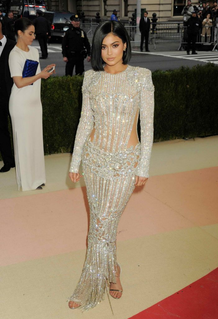 Kylie Jenner at the Costume Institute Gala at the Metropolitan Museum of Art in New York City-1