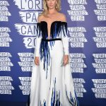 Lady Victoria Hervey at the L'Oreal Paris Blue Obsession Party in Hotel Martinez