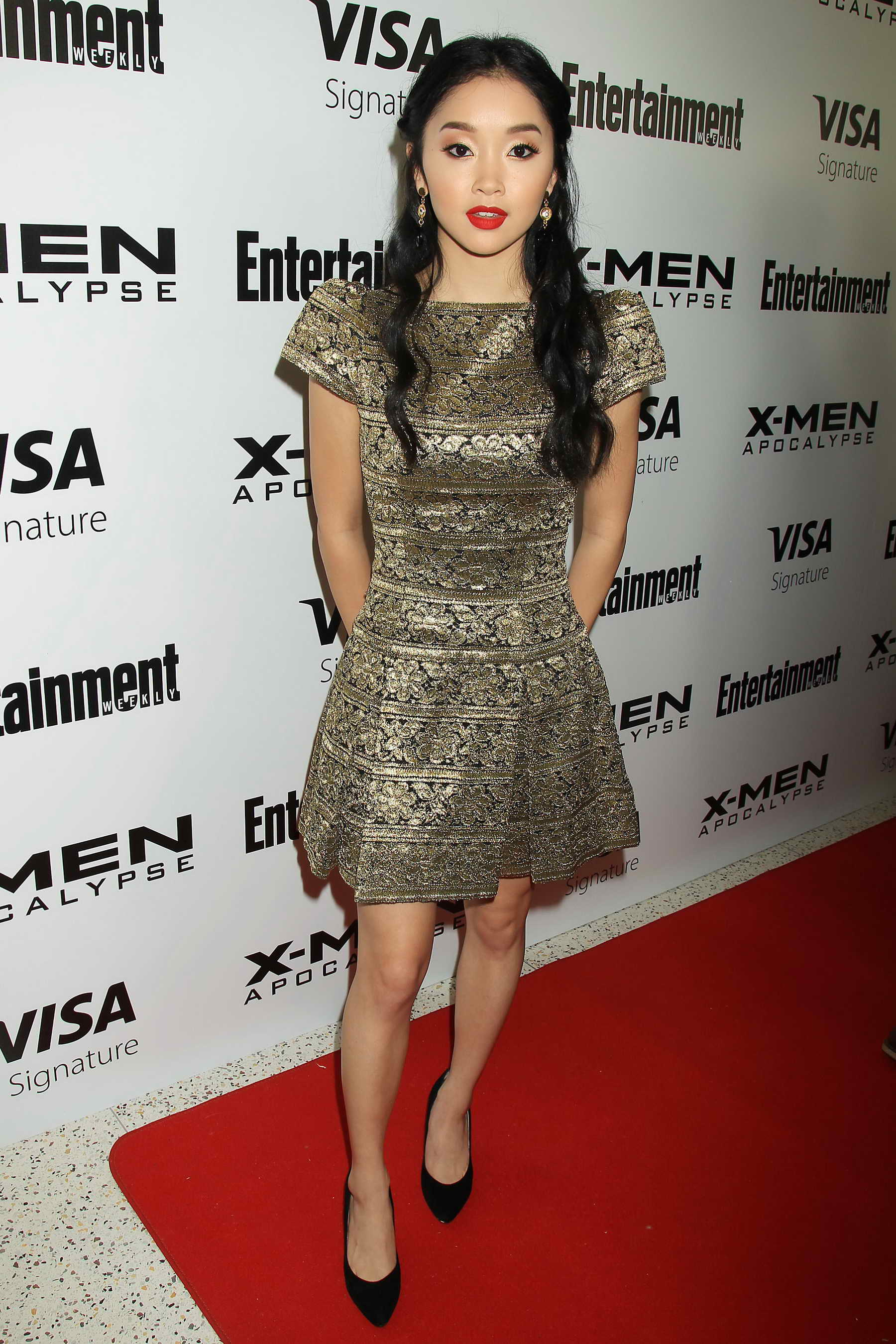 Weekly Address >> Lana Condor at Entertainment Weekly X-Men: Apocalypse Screening in New York City – Celeb Donut