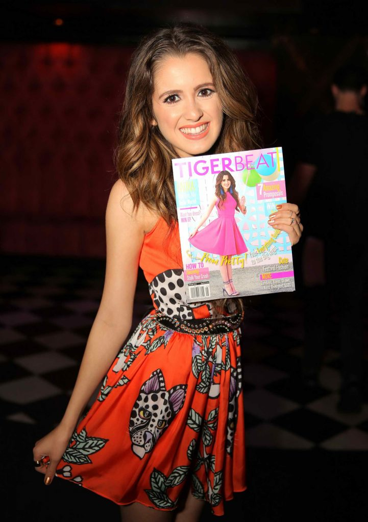 Laura Marano at the Tiger Beat Magazine Launch Party in Los Angeles-4