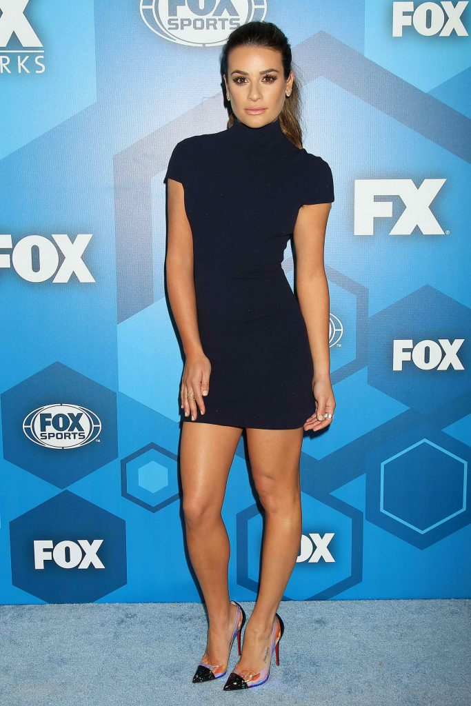 Lea Michele at the Fox Network 2016 Upfront Presentation in New York 05/16/2016-1