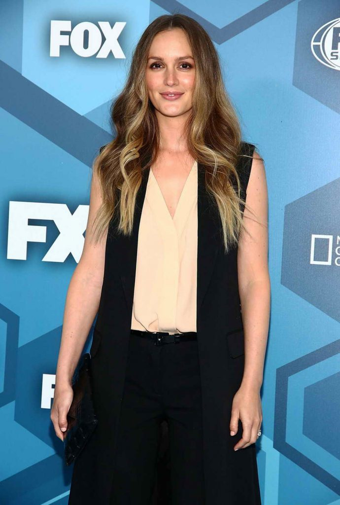 Leighton Meester at the Fox Network 2016 Upfront Presentation in New York-1