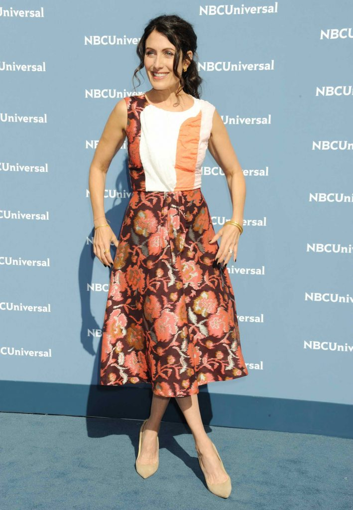 Lisa Edelstein at the NBCUniversal 2016 Upfront Presentation in New York-1