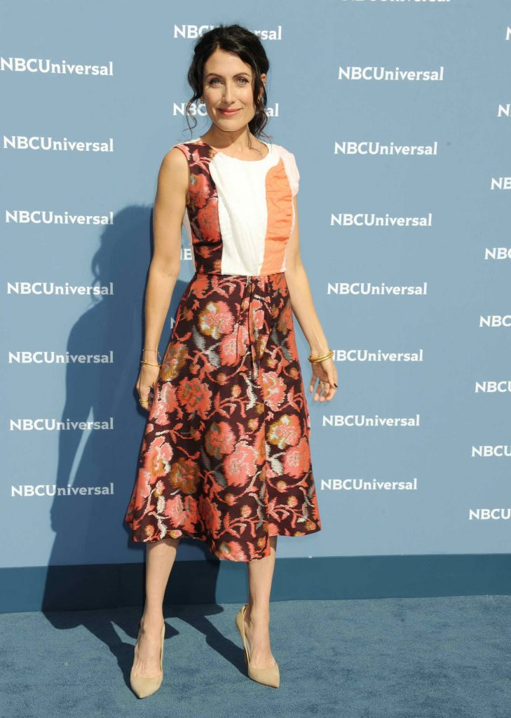 Lisa Edelstein at the NBCUniversal 2016 Upfront Presentation in New York-2