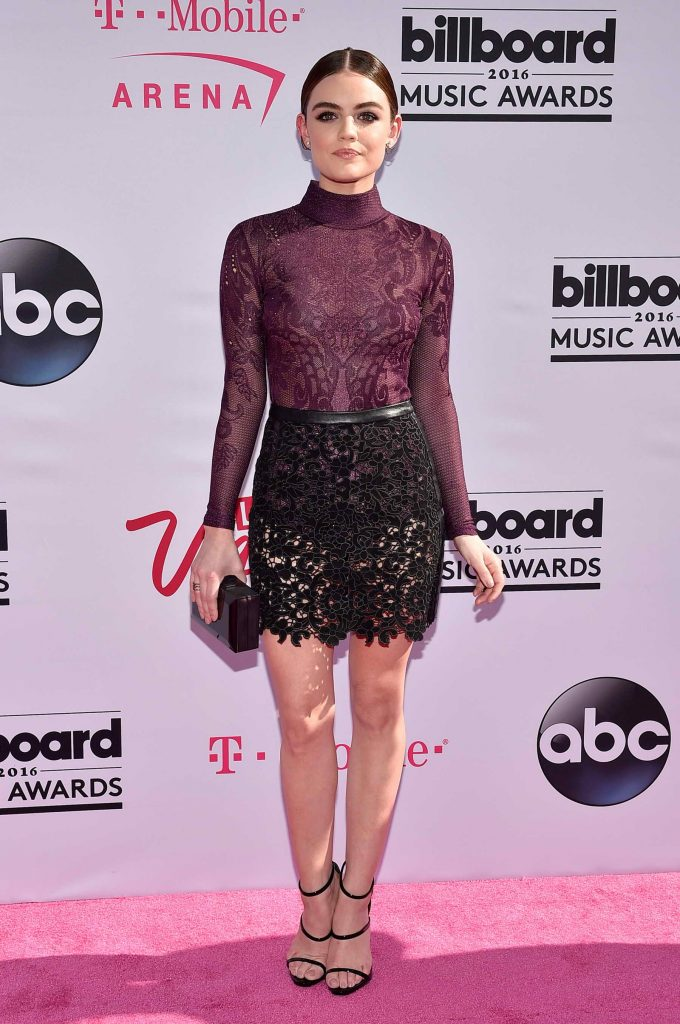 Lucy Hale at the 2016 Billboard Music Awards at T-Mobile Arena in Las Vegas-1