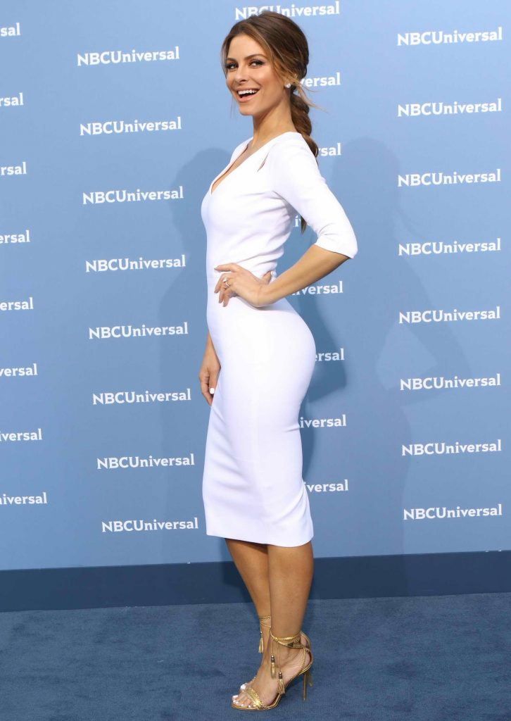 Maria Menounos at the NBCUniversal 2016 Upfront Presentation in New York-2