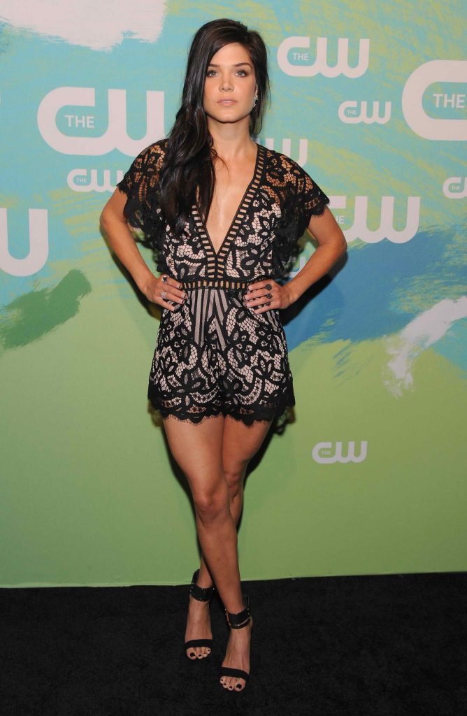 Marie Avgeropoulos at the CW Network Upfront Presentation in New York-1