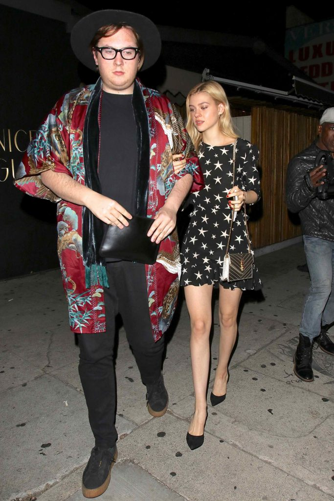 Nicola Peltz With a Friend Leaves The Nice Guy Club in West Hollywood-2