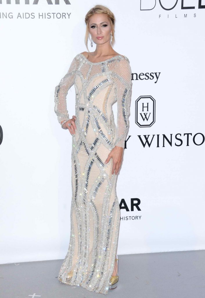 Paris Hilton at amfAR's 23rd Cinema Against AIDS Gala in Cannes-1