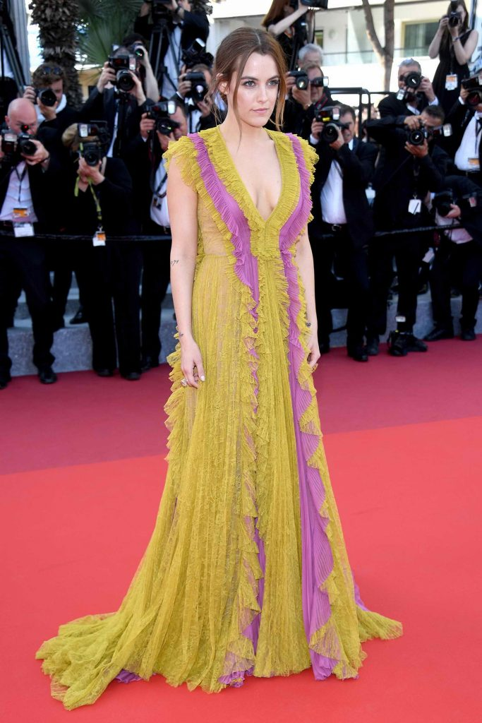 Riley Keough Attends American Honey Premiere During 69th Cannes Film Festival-1