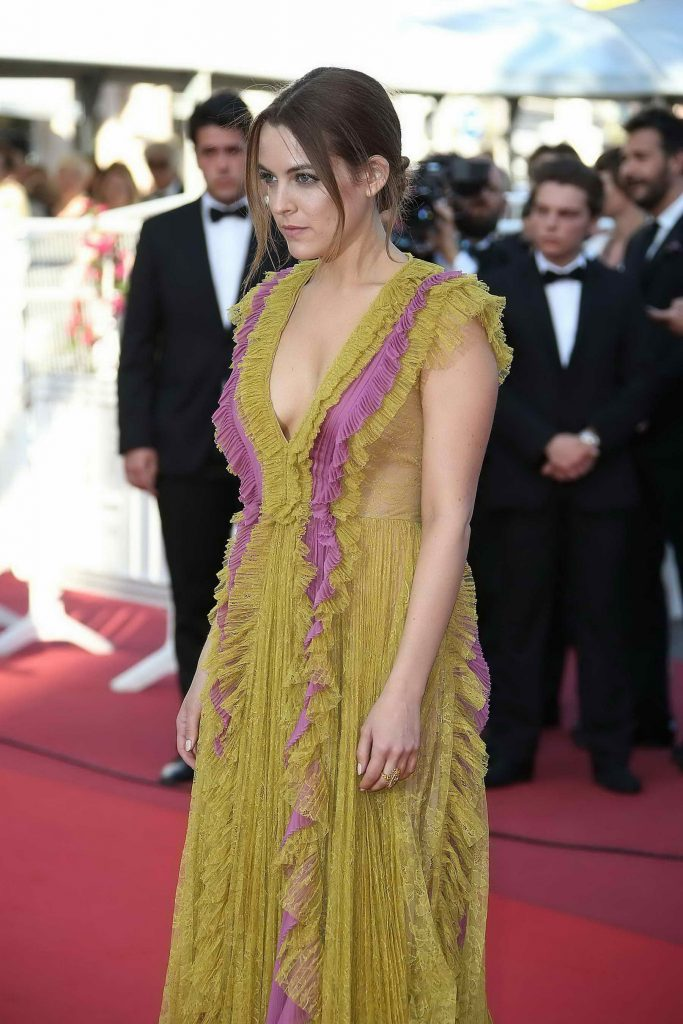 Riley Keough Attends American Honey Premiere During 69th Cannes Film Festival-3