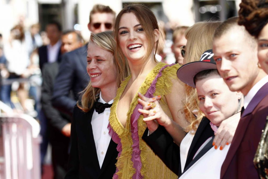 Riley Keough Attends American Honey Premiere During 69th Cannes Film Festival-5