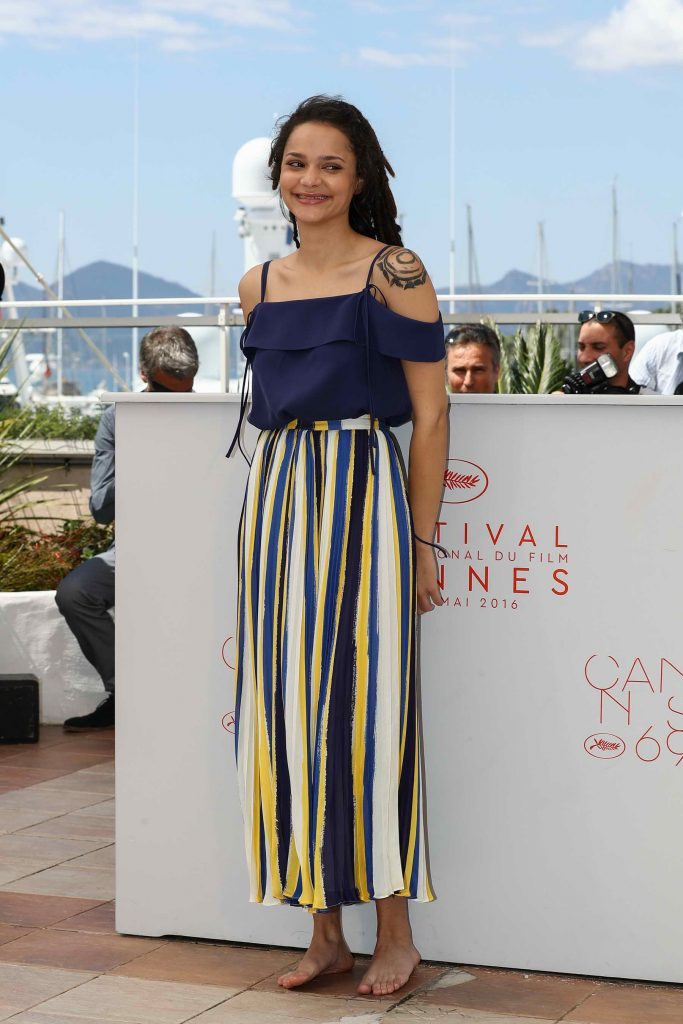Sasha Lane at American Honey Photocall During The 69th Annual Cannes Film Festival-2