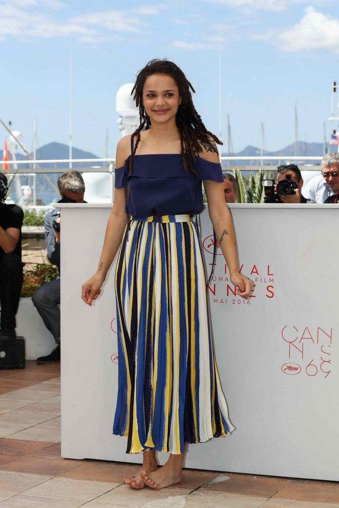 Sasha Lane at American Honey Photocall During The 69th Annual Cannes Film Festival-3