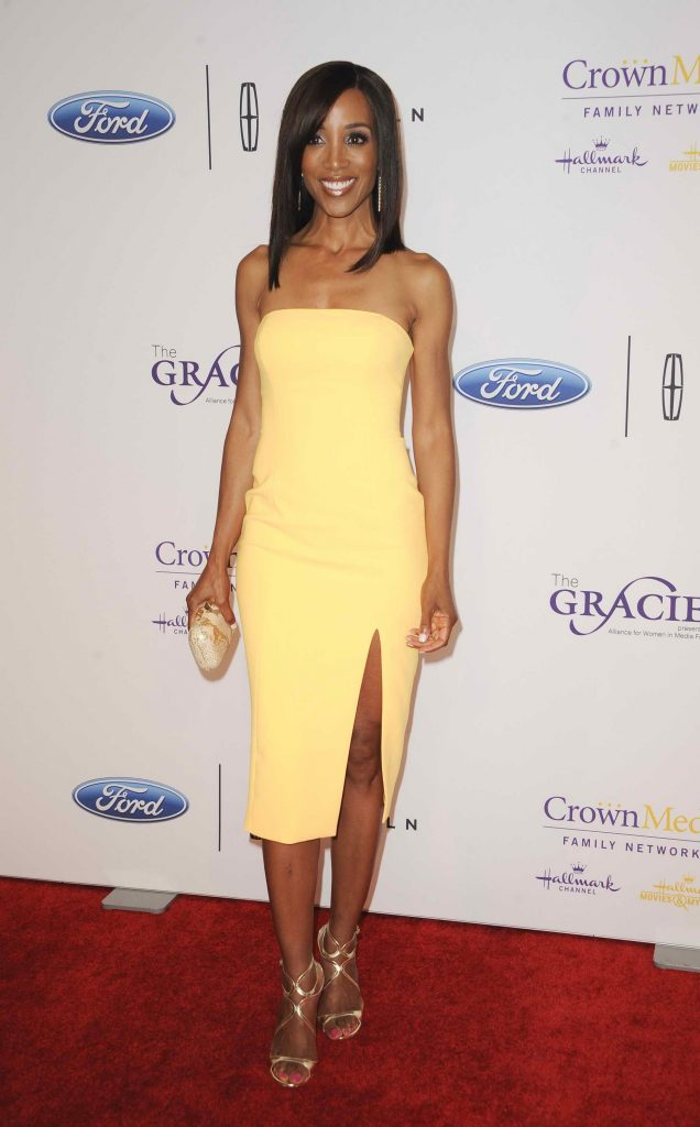 Shaun Robinson at 41st Annual Gracie Awards Gala May in Beverly Hills-2