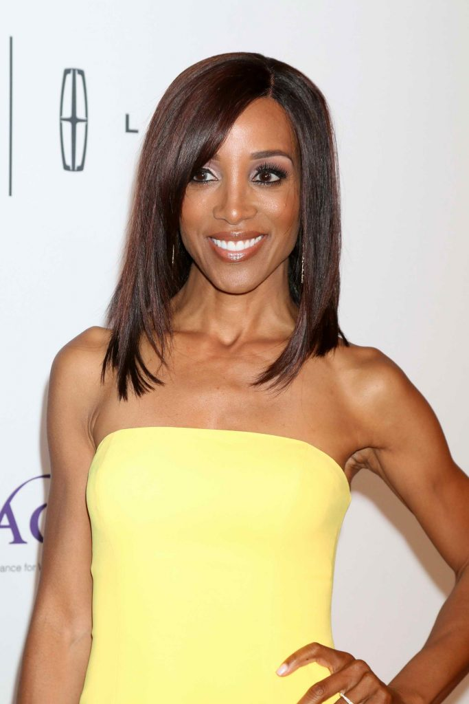 Shaun Robinson at 41st Annual Gracie Awards Gala May in Beverly Hills-3