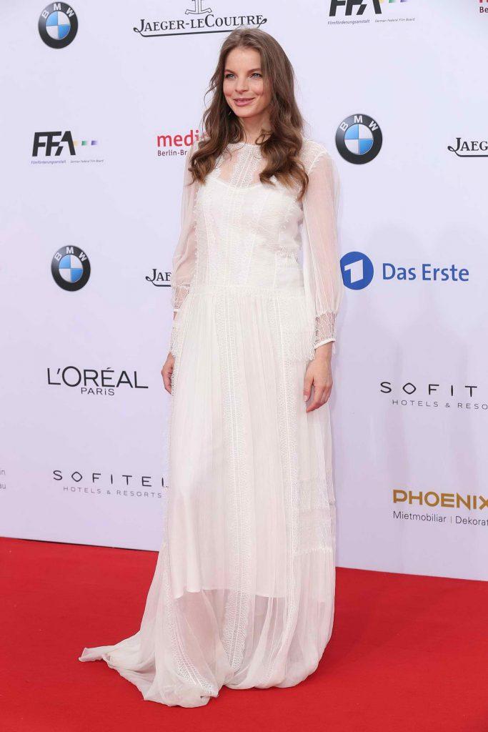 Yvonne Catterfeld Attends German Film Award in Berlin-3