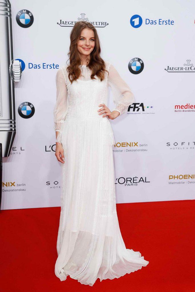 Yvonne Catterfeld Attends German Film Award in Berlin-4