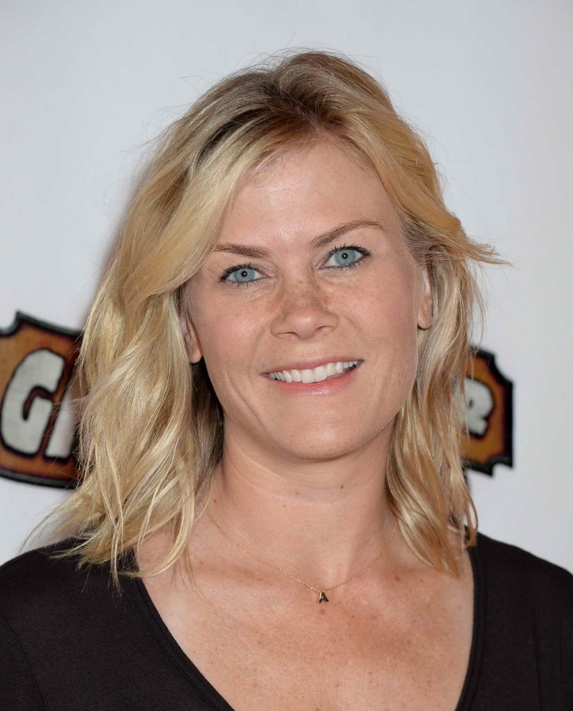 Alison Sweeney at Knotts Berry Farm in Buena Park, California-3