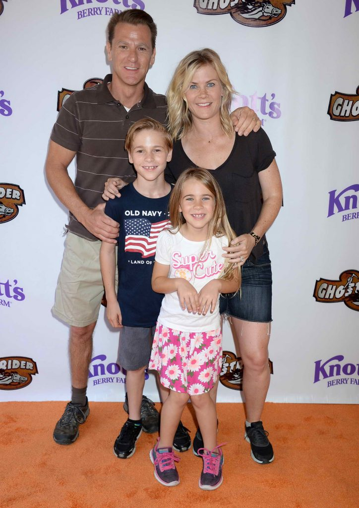 Alison Sweeney at Knotts Berry Farm in Buena Park, California-4