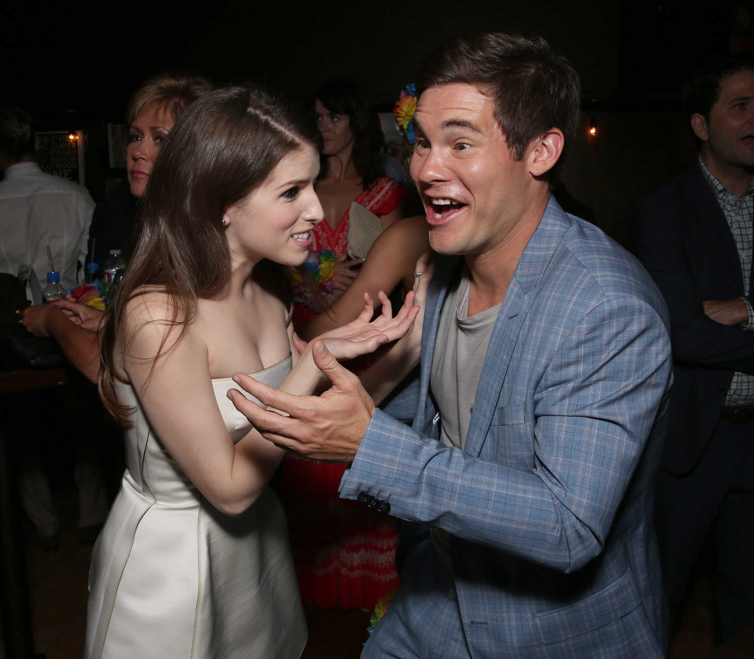 Mike And Dave Need Wedding Dates Plugged In: Anna Kendrick At The Mike And Dave Need Wedding Dates