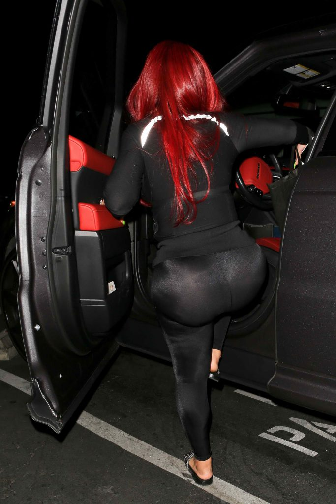 Blac Chyna Was Seen Out at Busby's in Hollywood-5
