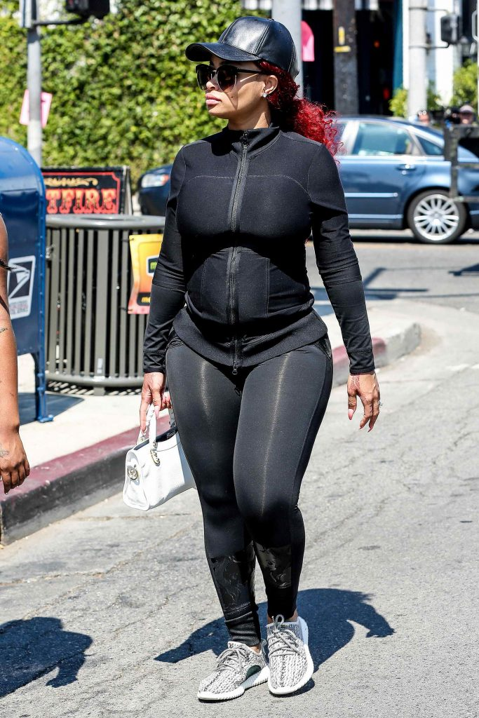 Blac Chyna Was Seen Out in Los Angeles-1