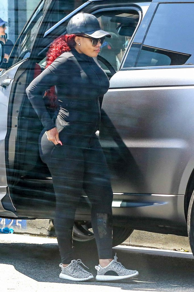Blac Chyna Was Seen Out in Los Angeles-4