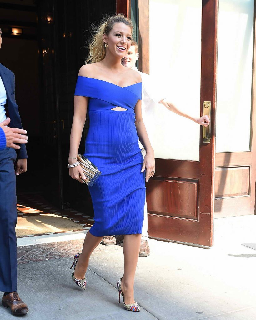 Blake Lively at The Tonight Show Starring Jimmy Fallon in New York City-1