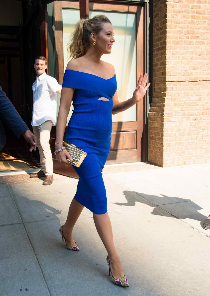 Blake Lively at The Tonight Show Starring Jimmy Fallon in New York City-2