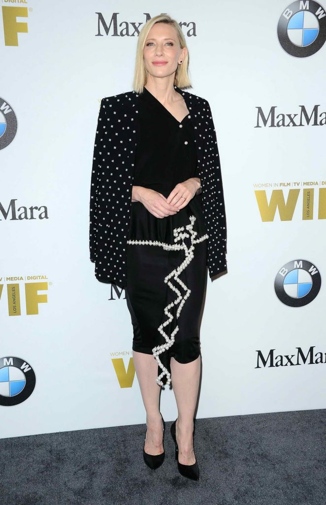 Cate Blanchett at the Women in Film Crystal and Lucy Awards in Beverly Hills-2