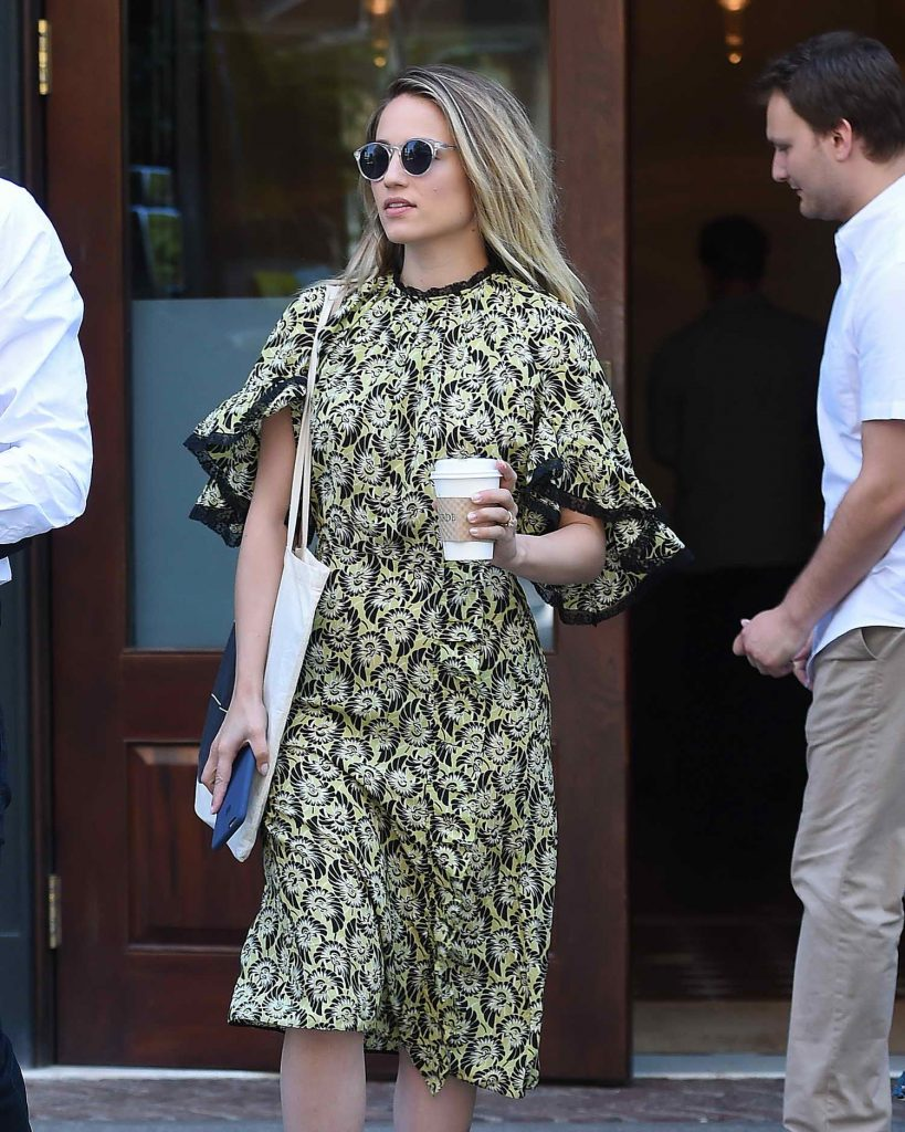 Dianna Agron Was Seen Out in NYC-1