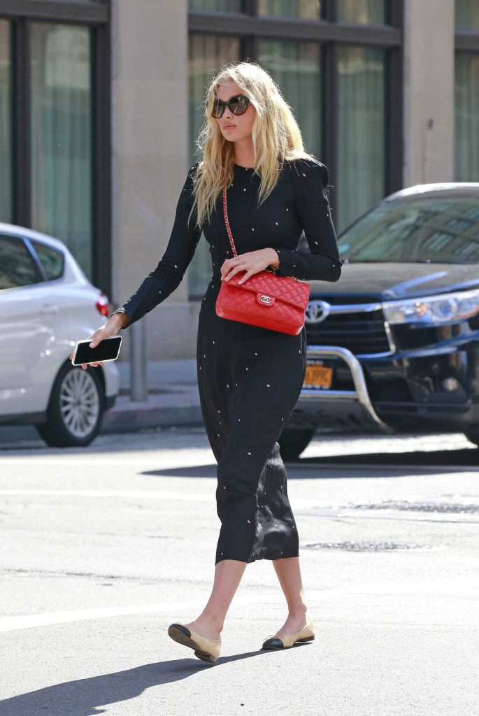 Elsa Hosk Was Seen Out in Tribeca-1