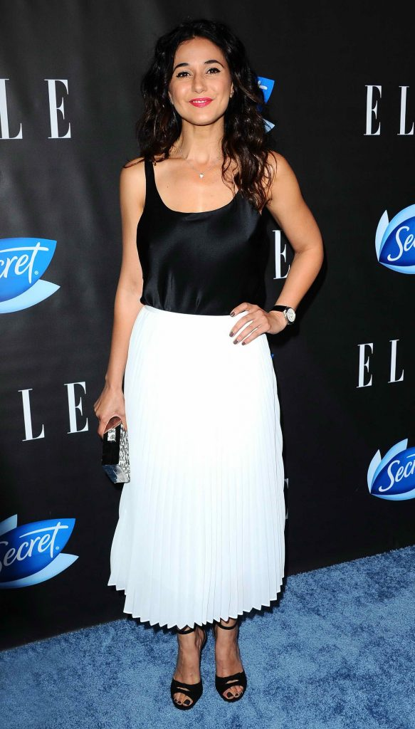 Emmanuelle Chriqui at the ELLE Hosts Women in Comedy Event in West Hollywood-2