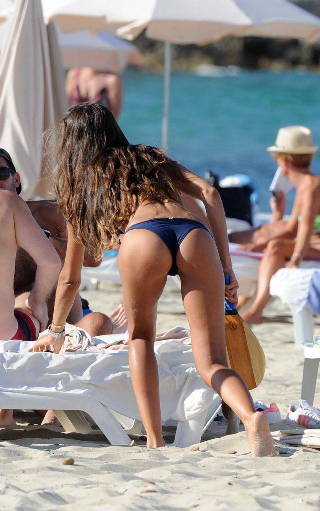 Iza Goulart in Bikini at the Beach in Ibiza-2