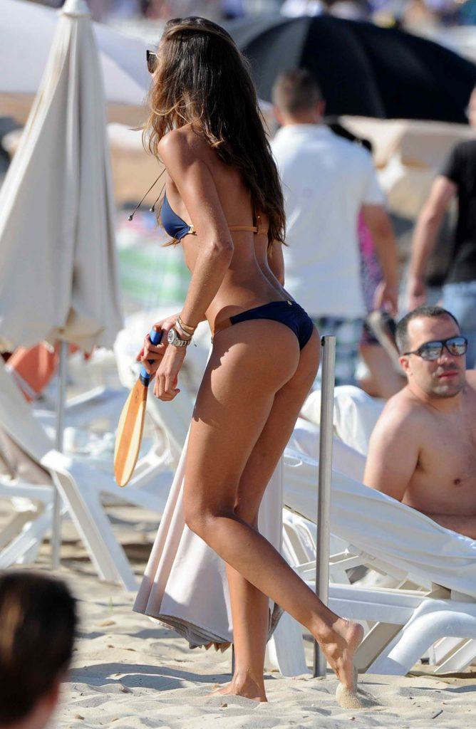 Iza Goulart in Bikini at the Beach in Ibiza-5