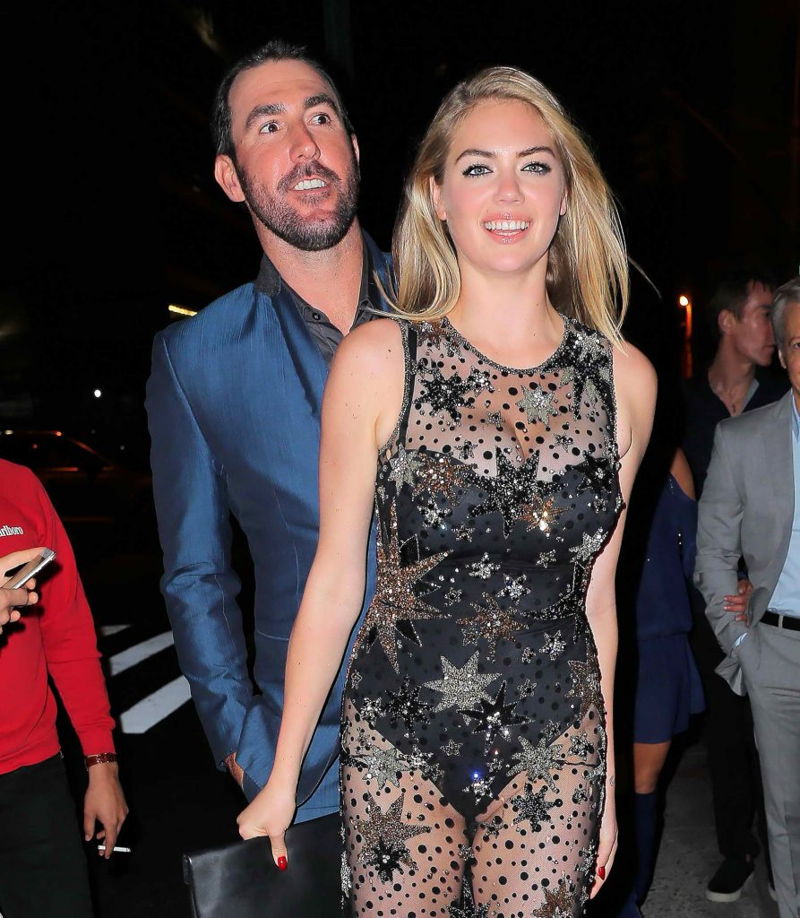 Kate Upton Celebrates Her 24th Birthday at The Blond in New York-1